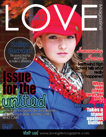 Image of a cover for a Memphis LOVE Girls magazine