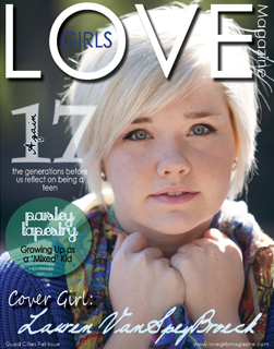 Image of a cover for a Quad Cities LOVE Girls magazine