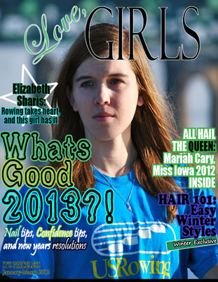 Image representing Winter 2013 cover of Love Girls QC