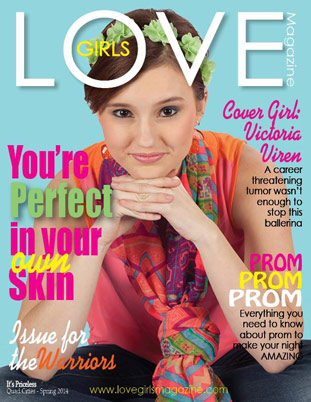 Image representing Spring 2014 cover of Love Girls QC