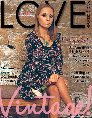 Image representing Spring 2015 cover of Love Girls QC