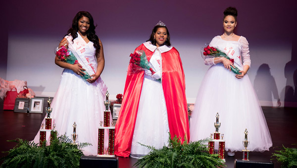 Photo of the pageant winners